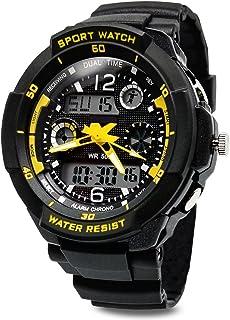 TOPCABIN Boys Watch Child Sport Digital Watch with Alarm Stop watch-50m Water Proof