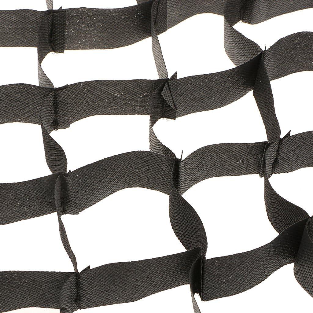 70 Cm para El Tipo del Paraguas P Prettyia Rejilla Cuadrada del Panal del Estudio De La Foto De 50 120cm Negro-80