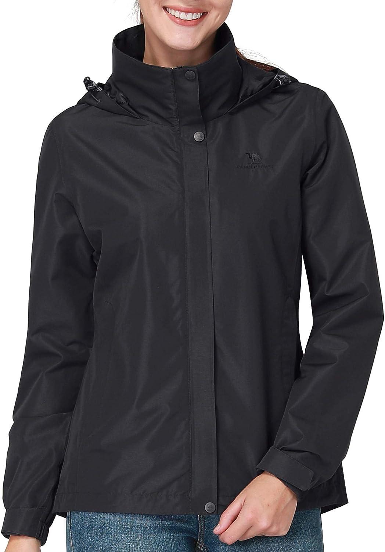 CAMEL CROWN Men's Waterproof Detroit Mall Jackets Li Women's Hooded Price reduction Raincoats