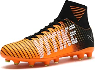58f5e59a6de96d Littleplum Soccer Cleats Shoes Football Boots Cleats High-top Sock Shock  Buffer Outdoor