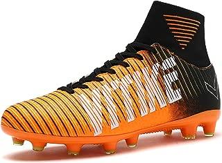 Littleplum Soccer Cleats Shoes Football Boots Cleats High-top Sock Shock Buffer Outdoor