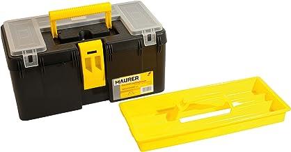 Maurer 91956 gereedschapskoffer, polypropyleen, 40 x 23 x 20 cm, geel/zwart