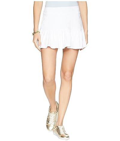 Lilly Pulitzer UPF 50+ Meryl Nylon Luxletic Taye Tennis Skort (Resort White Perfect Match) Women