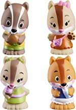 Fat Brain Toys Timber Tots Nutnut Family Set of 4 Dolls & Dollhouses for Ages 2 to 4