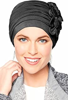 Cardani Flapper Turban - Vintage Flapper Hat in Soft Bamboo