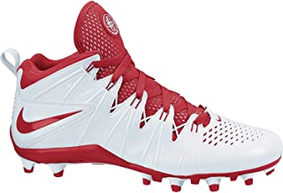 NEW Huarache 4 LAX Lacrosse/Football Cleats White/Red Sz 11.5 M