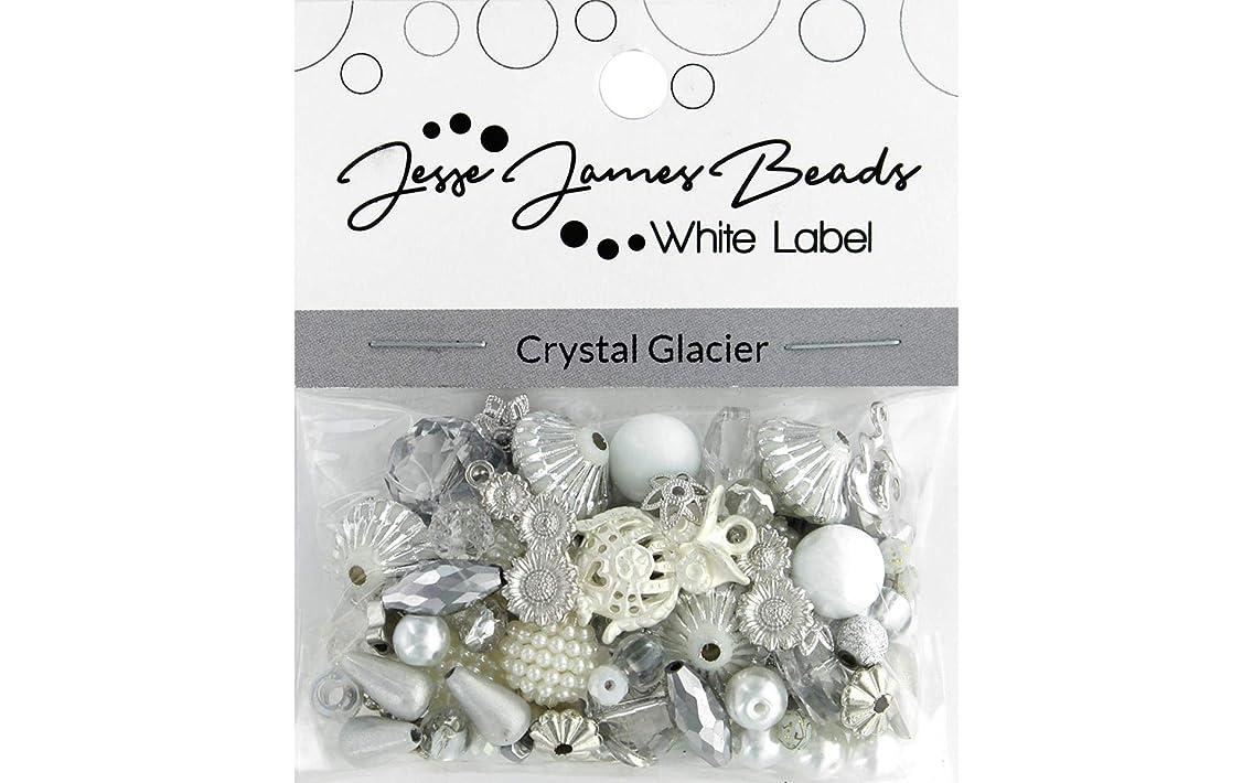 Jesse James Beads 10342 Crystal Glacier Design Elements Beads White