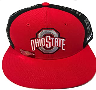 a9ef35eaa65 Nike Ohio State Buckeyes True Sideline Player Cap One Size Snap Back Red
