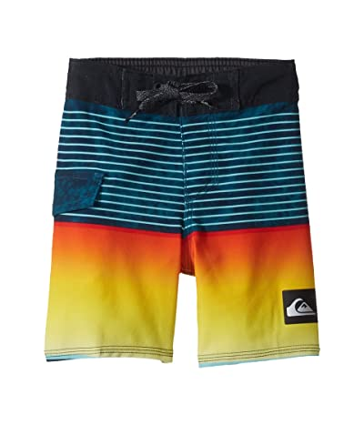 Quiksilver Kids Highline Slab 14 Boardshorts (Toddler/Little Kids) (Crystal Teal) Boy