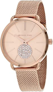 Michael Kors Portia Womens Three Hand Wrist Watch