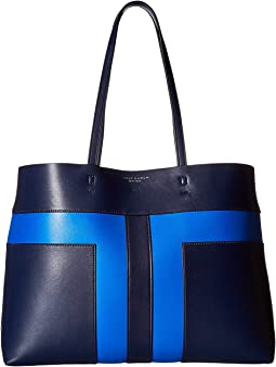 Tory Burch - Block-T Pieced Tote