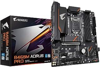 Gigabyte B460M AORUS PRO (LGA1200/Intel/B460/Micro ATX/Dual M.2/SATA 6Gb/s/USB 3.2 Gen 1/DDR4/placa base)