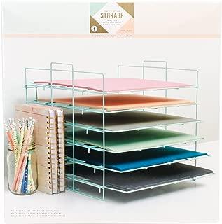 large paper storage rack