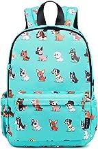 Abshoo Little Kids Dog Toddler Backpacks for Boys and Girls Preschool Backpack With Chest Strap (Dog Teal)