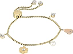 Michael Kors - In Full Bloom Multi Charm Slider Bracelet