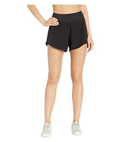 Jockey Active Scorcher Run Shorts (Deep Black) Women