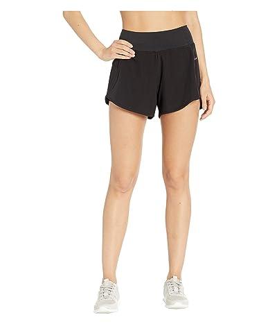 Jockey Active Scorcher Run Shorts (Deep Black) Women