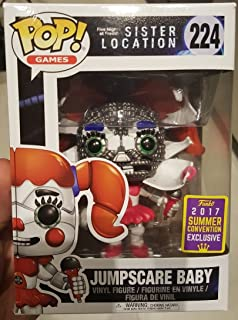 Figura Pop Five Nights At Freddy'S Jumpscare Baby SDCC 2017 Exclusive