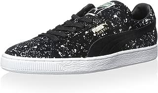 PUMA Suede Classic Black Splatter Sneakers Black Womens