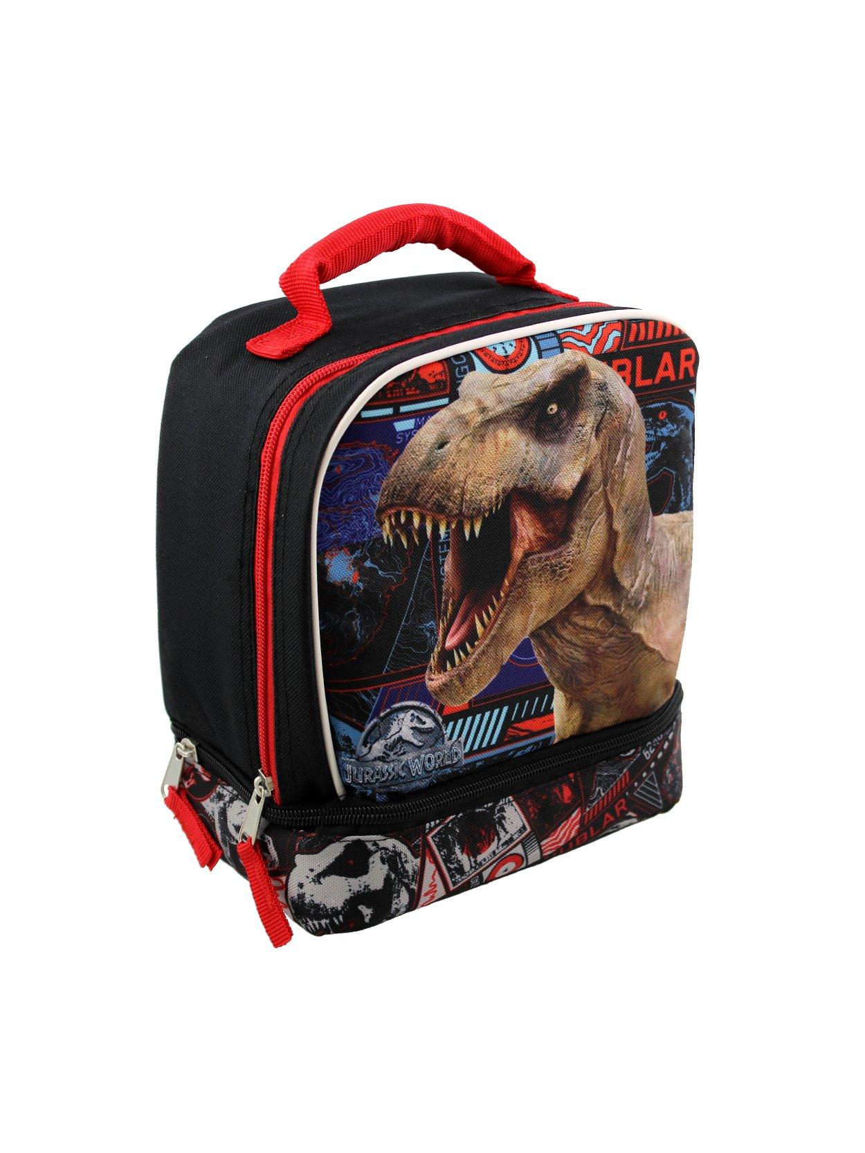 Jurassic World Compartment Lunch Black