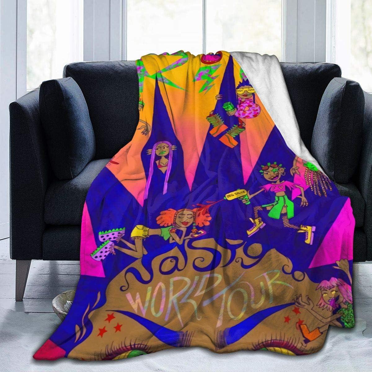 MarySPersds 新品未使用正規品 RICO Nasty Blankets Warm Flannel Soft 上質 Super