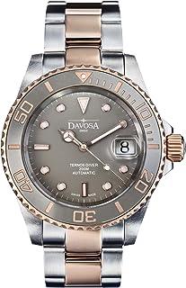 DAVOSA - Reloj de pulsera para hombre, Ternos cerámica profesional analógica automática y bisel de lujo
