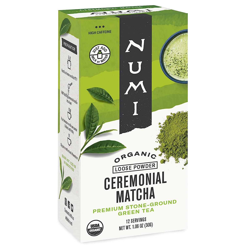Numi Organic Ceremonial Highest Cheap bargain Grade Green Matcha 5 popular Japanese Tea