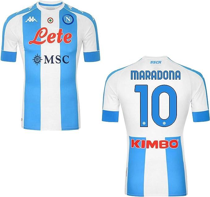 MAESTRI DEL CALCIO Maglia Napoli Maradona CELEBRATIVA Limited ...