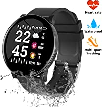 nicegh Fitness Tracker, Activity Tracker with Blood Press&Heart Rate Monitor, 1.3'' Color Screen IP67 Waterproof Smartwatch,Sleep Monitor Calorie Counter, Pedometer for Men Women and Kids