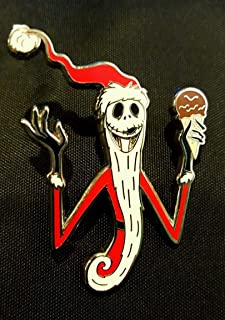 Authentic Disney DSF Nightmare Santa Jack Skellington Pin Traders Delight LE 500 GWP PTD NEW