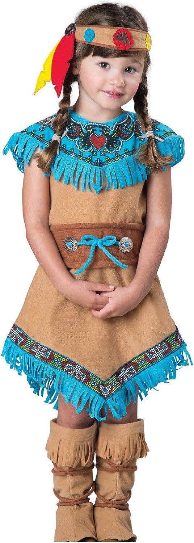 InCharacter It is very Luxury goods popular Toddler's Indian Girl Costume