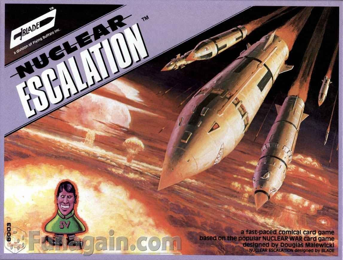 Nuclear Max 84% OFF Escalation sale