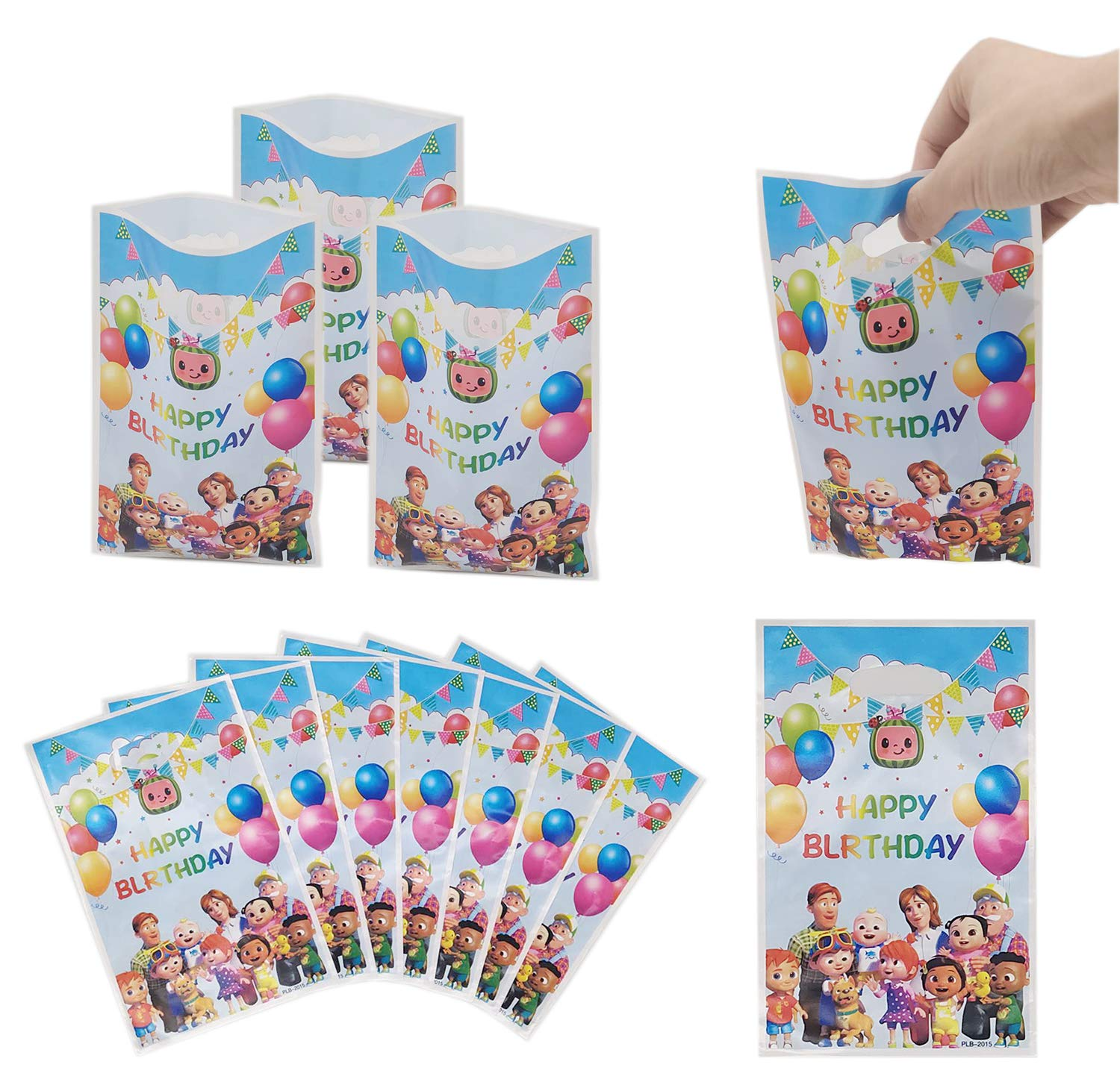 Large Banner Fun Indoor Outdoor Throwing Games for Kids Adult Themed Birthday Party Favors Decoration Supplies Baby Shower Activities Hsooryx Cocomelon Toss Games with 4 Bean Bags Set Fun Party Game