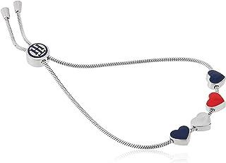 Tommy Hilfiger Women'S Silver Stainless Steel Charm Bracelets -2780120