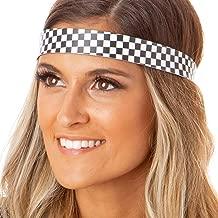checkerboard headband