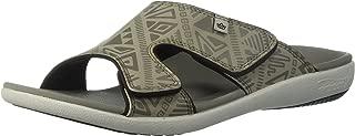 Spenco Mens Men's Tribal Slide Sandal