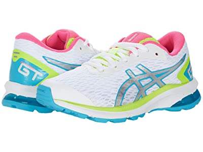 ASICS Kids GT-1000 9 (Little Kid/Big Kid) (White/Pure Silver) Girls Shoes