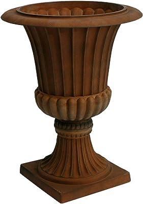 Algreen 42741 Rustic Rust Urn Planter