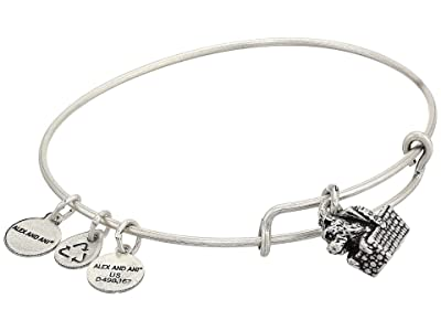 Alex and Ani Wizard of Oz, Toto Bangle Bracelet (Rafaelian Silver) Bracelet