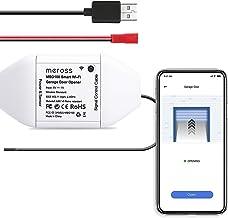 Smart Garage Door Opener Remote, APP Control, Compatible with Alexa, Google Assistant and SmartThings, Multiple Notificati...