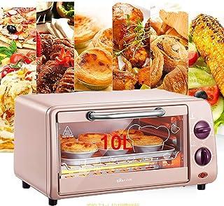 Qinmo Horno eléctrico, 10l múltiples funciones Horno eléctrico, Home Baking pequeña tostadora, Control de Temperatura Horno Mini Cake, El tiempo y la temperatura puede ser controlada, el mejor regalo,
