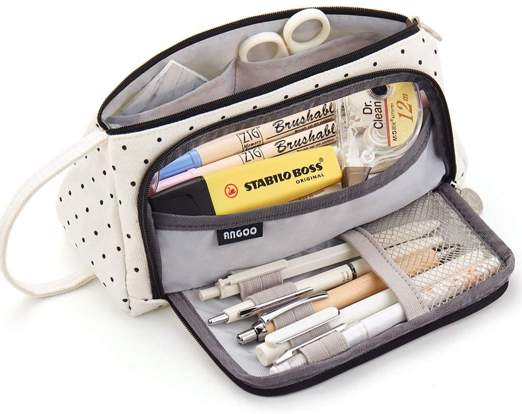 EASTHILL Big Sale special price Capacity Pencil Case Large Storage Pouc Canvas High Indianapolis Mall