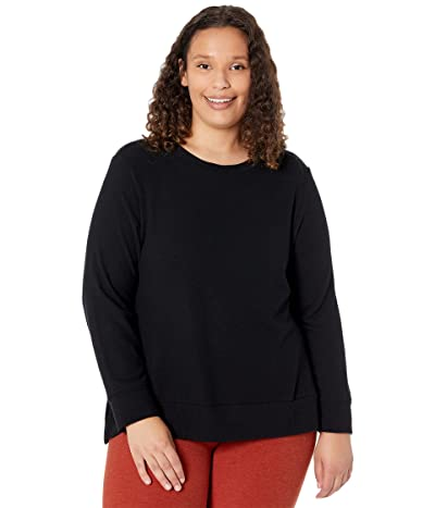 Beyond Yoga Plus Size Just Chillin Long Sleeve Bopo Pullover