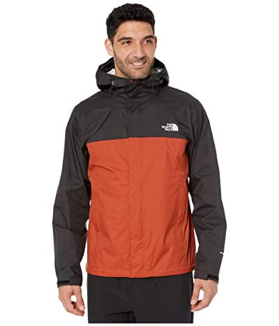 The North Face Venture 2 Jacket (Picante Red/TNF Black) Men