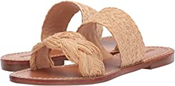 Raffia Braided Slide Sandal