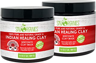 Best indian healing clay for face Reviews