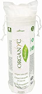 Best Organyc 100% Organic Cotton Rounds - Biodegradable Cotton, Chemical Free, For Sensitive Skin (70 Count) - Daily Cosmetics. Beauty and Personal Care Review