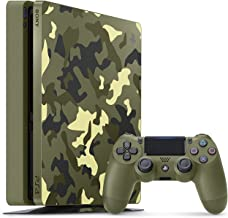 PlayStation 4 Slim 1TB Limited Edition Console - Call of Duty WWII Bundle [Discontinued] (Renewed)