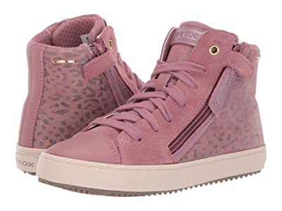Geox Kids Jr Kalispera 21 (Little Kid/Big Kid) (Dark Pink) Girls Shoes