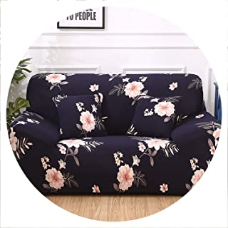 Amazing21 Spandex Sofa Cover Stretch Sectional Couch Cover Sofa Set Sofa Covers for Living Room housse canape slipcover 1/2/3/4 Seater,Color 5,4-Seater(235-300cm)